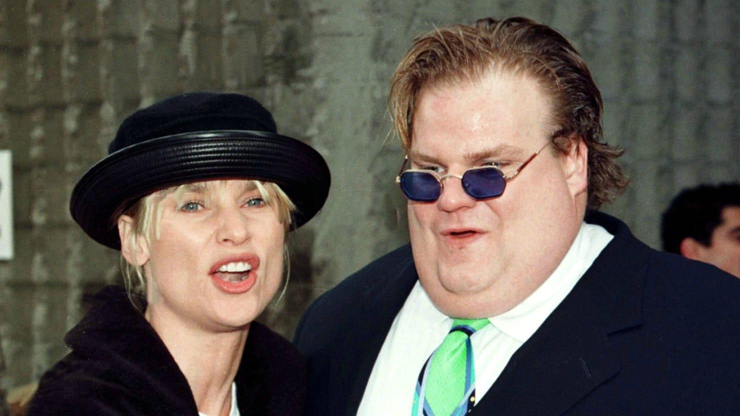 chris farley s family settles lawsuit over fat guy brand the