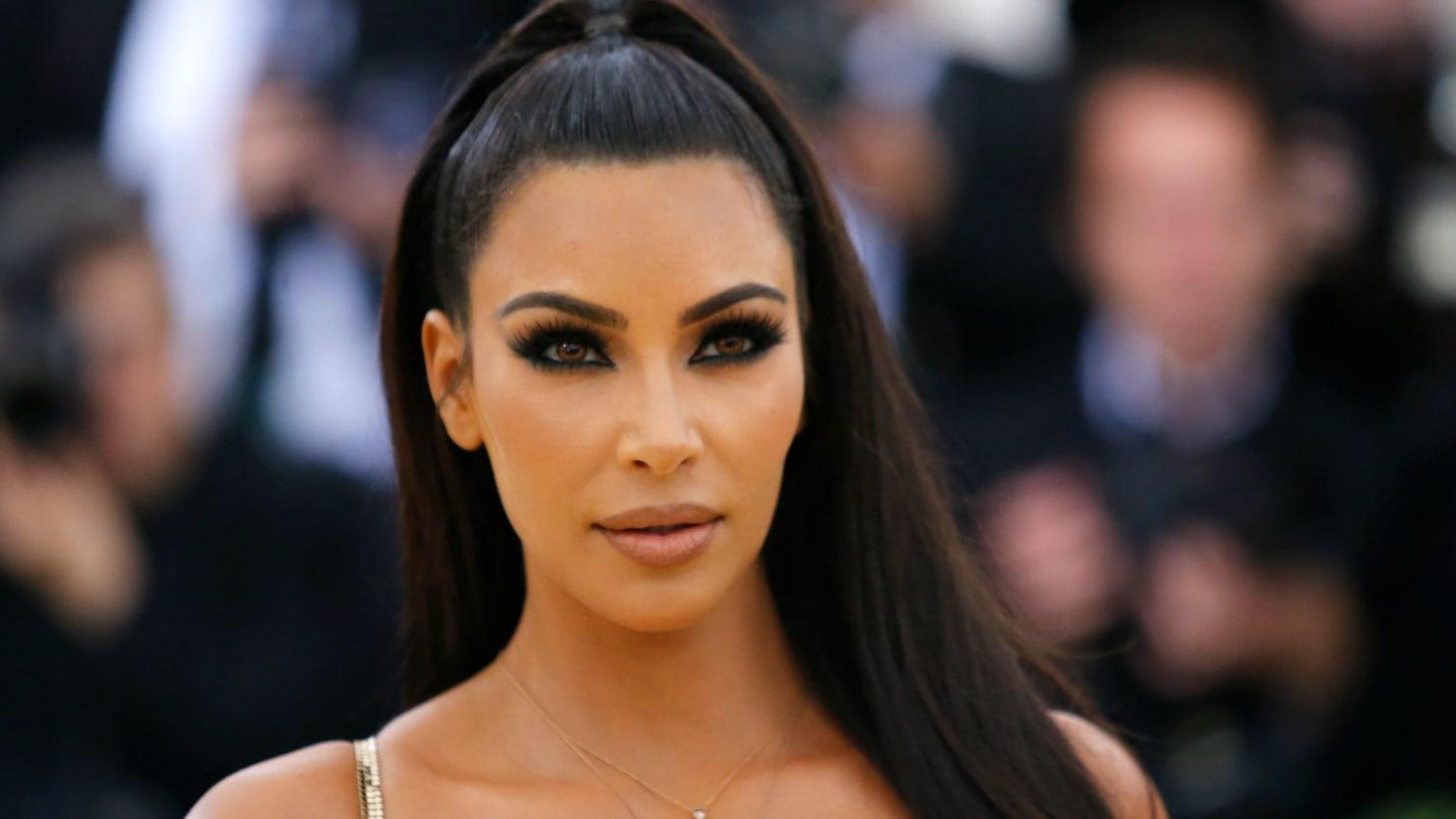 Here We Go: Kim Kardashian Is Releasing Her First OfficialLipstick