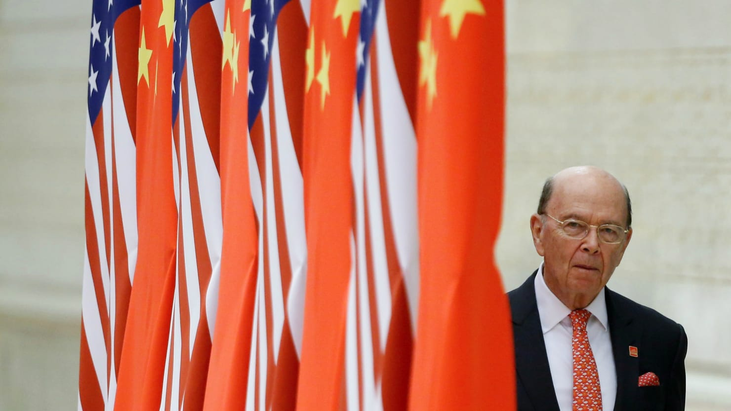 Wilbur Ross Never Sold Stakes in Companies Co-Owned by China, Report Says