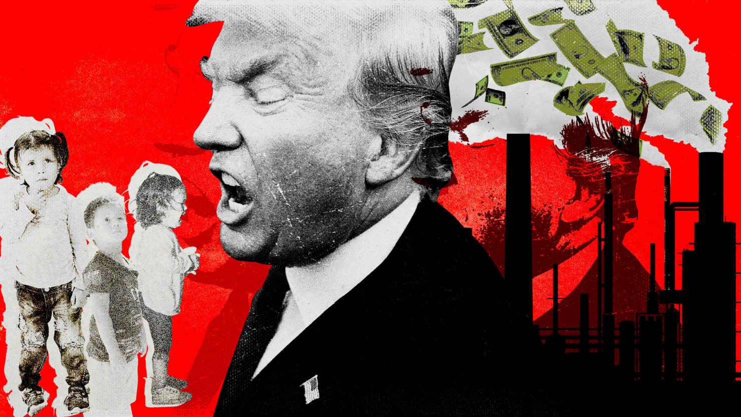 Trump Locks Up Immigrant Kids, but Not Bankers or Polluters