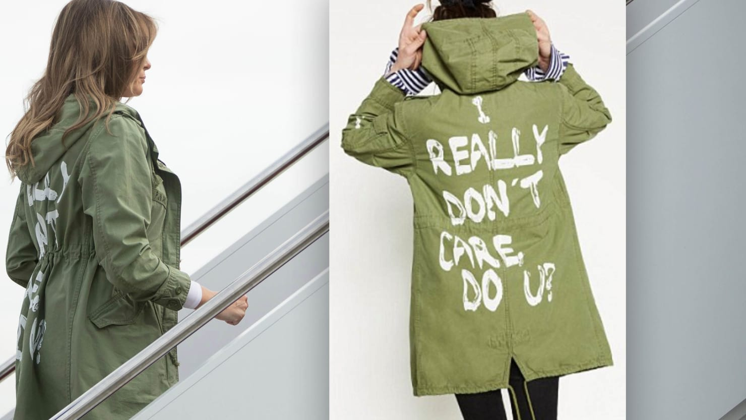 Melania jacket: I don't care do you?