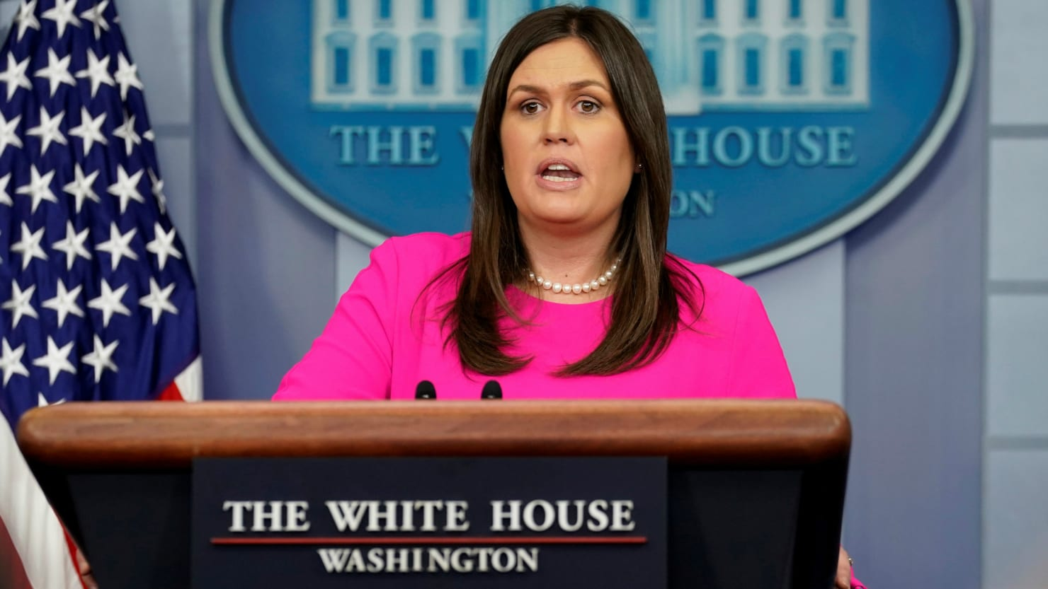 What Is Civility In Politics >> Sarah Sanders to Receive Temporary Secret Service Protection