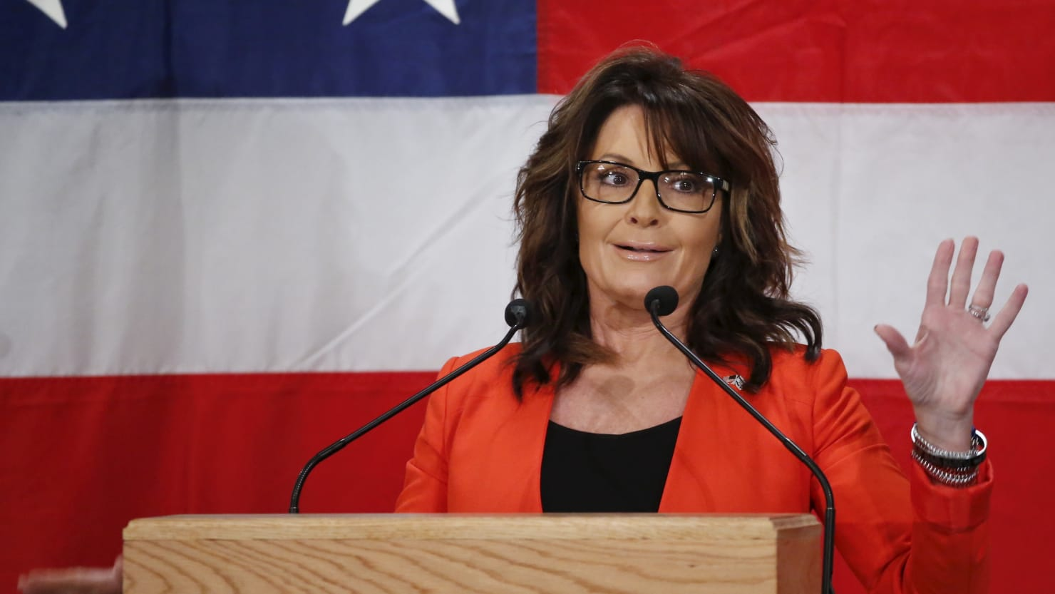 Sarah palin admits she was duped by sacha baron cohen the daily kamil krzaczynskireuters altavistaventures Images