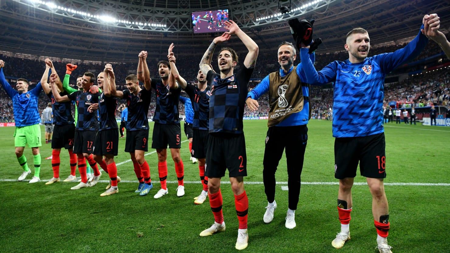 Image result for england 2-1 croatia