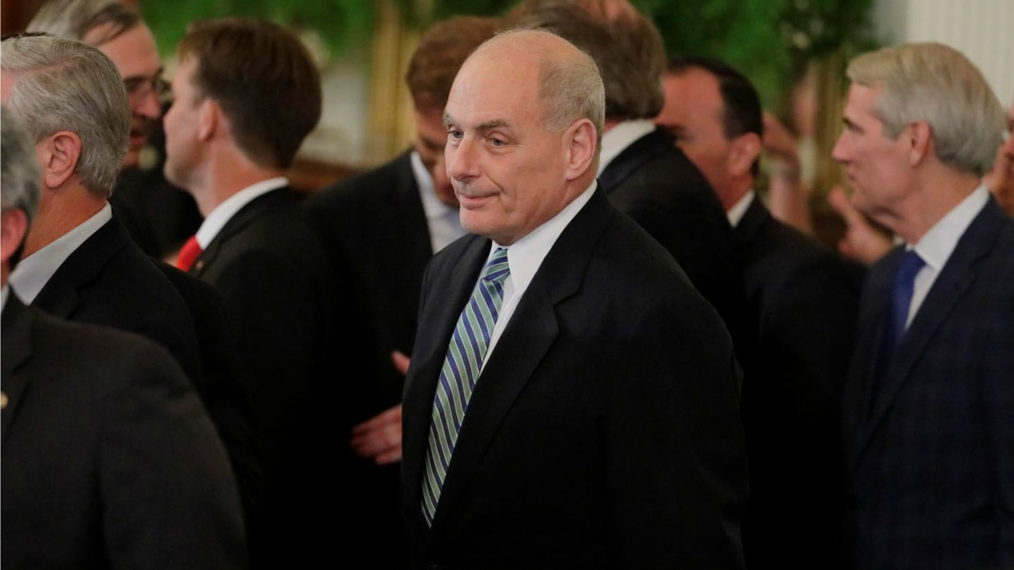 White House: John Kelly Was 'Displeased' With Breakfast Options at NATO Meeting, Not Trump