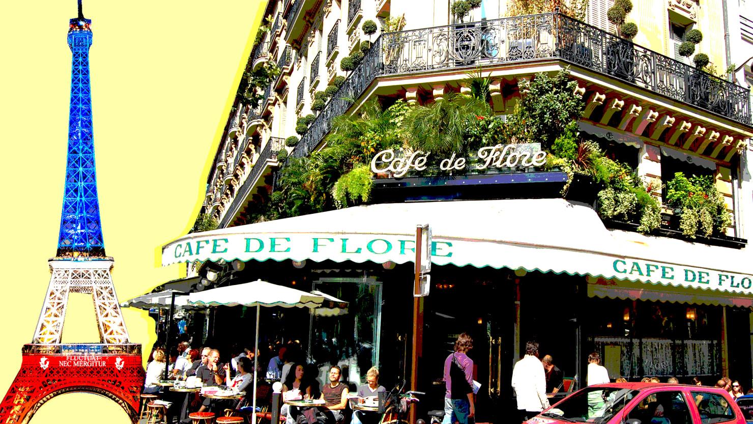 Sartre Spinoza And Cruising At The Cafe De Flore - Fotos-de-flore