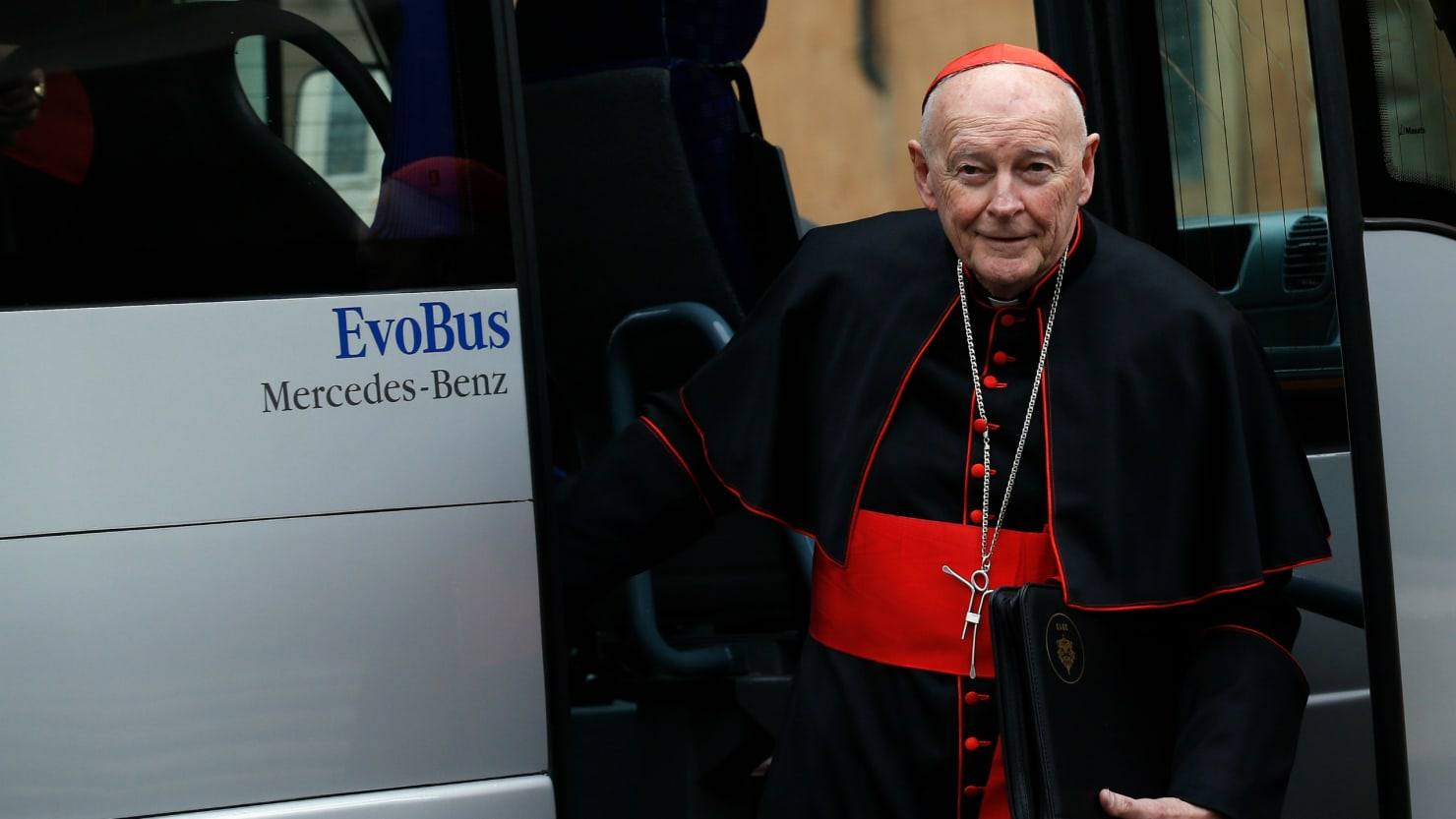 Cardinal McCarrick preyed on young boys