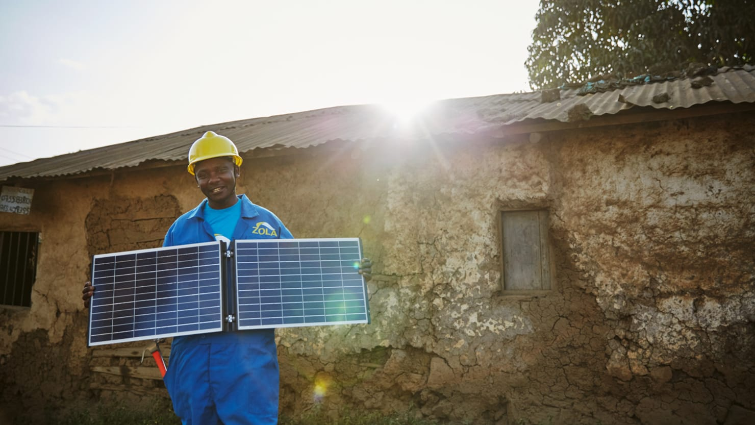 solar panel frontier energy zola bloomberg
