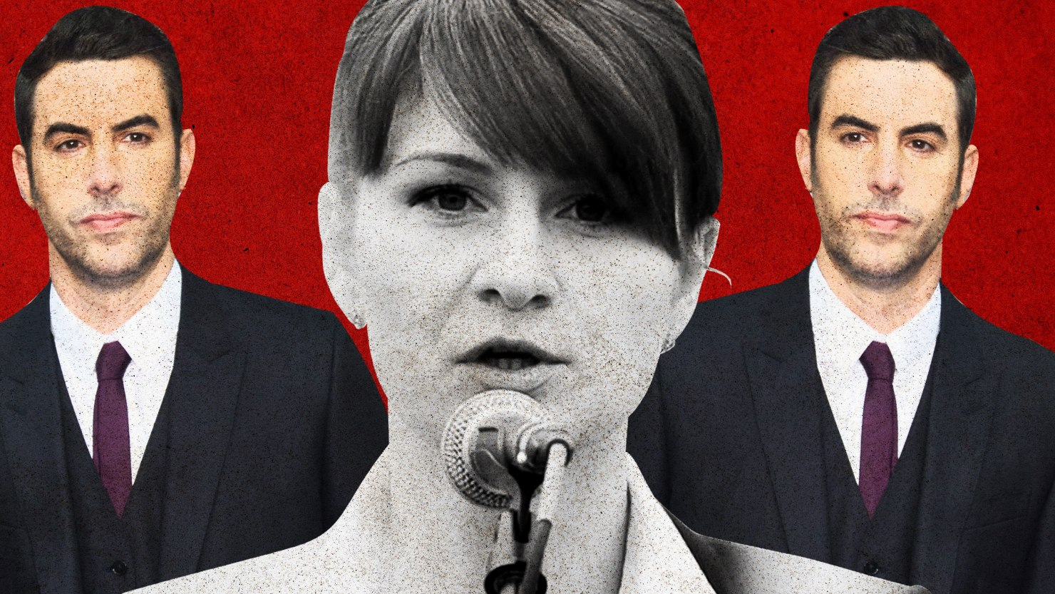 Between Maria Butina and Sacha Baron Cohen, Conservatives Look Like the World's Biggest Suckers