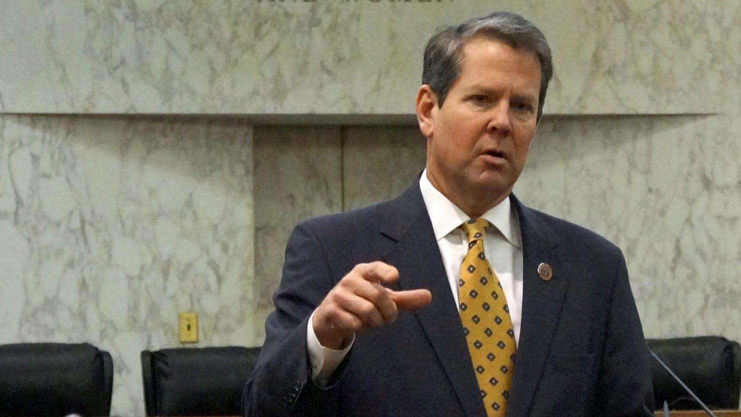 Trump Favorite Brian Kemp Wins Georgia Republican Run-Off