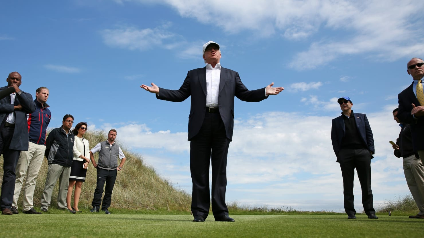 Report: Trump Golf Resort in Scotland Destroyed Special Nature Site