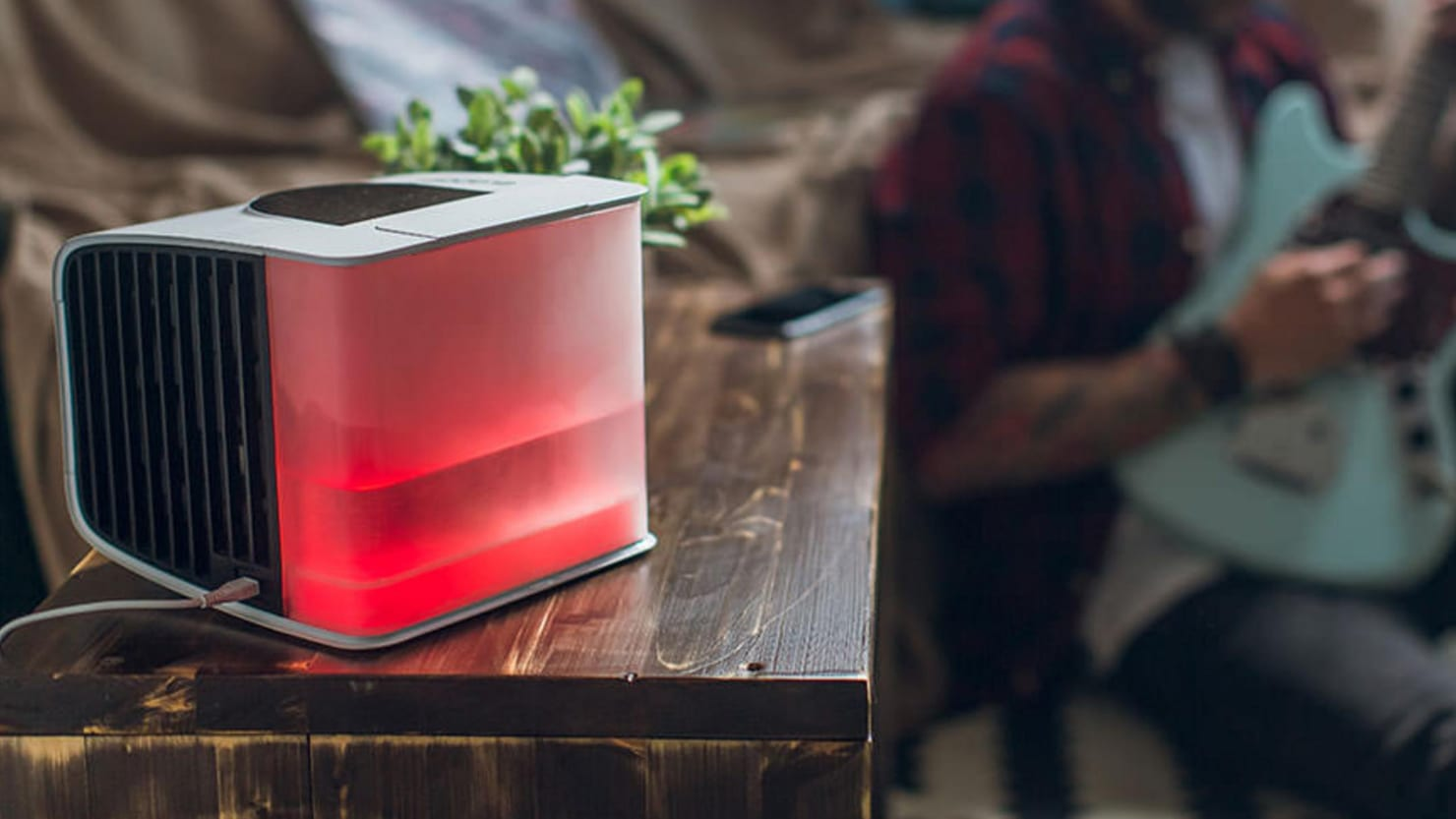 Ditch Your Cumbersome Portable Air Conditioner Units and Pick Up This Smart Cooling Cube