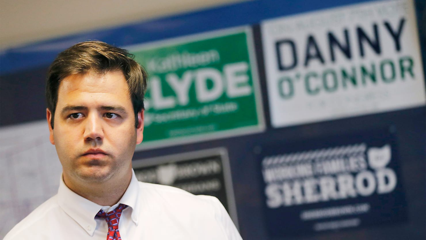 Democrat Danny O'Connor Tries to Do the Impossible in an Ohio Republican Stronghold