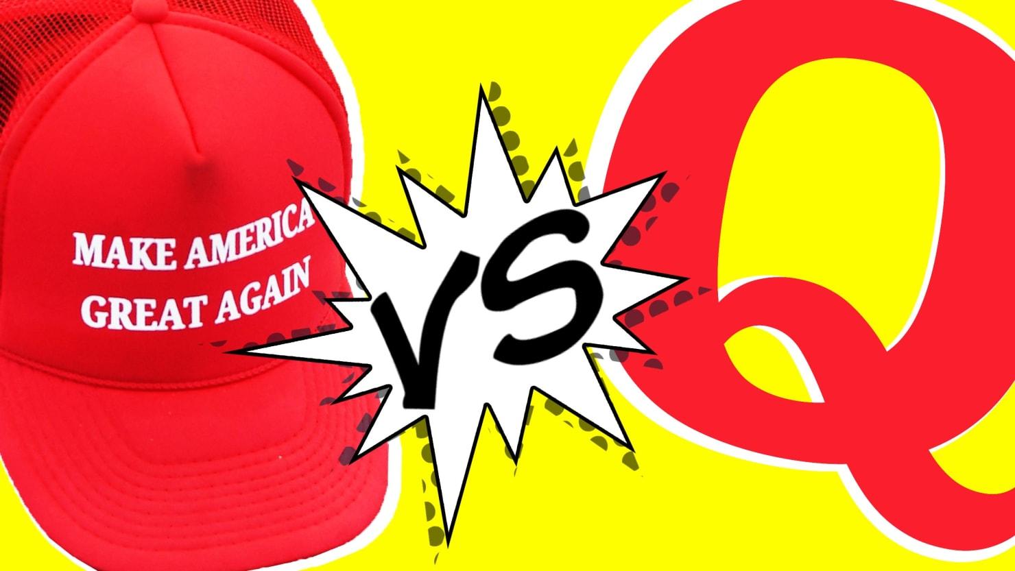Trump's Allies Struggle to Stop QAnon's Spread