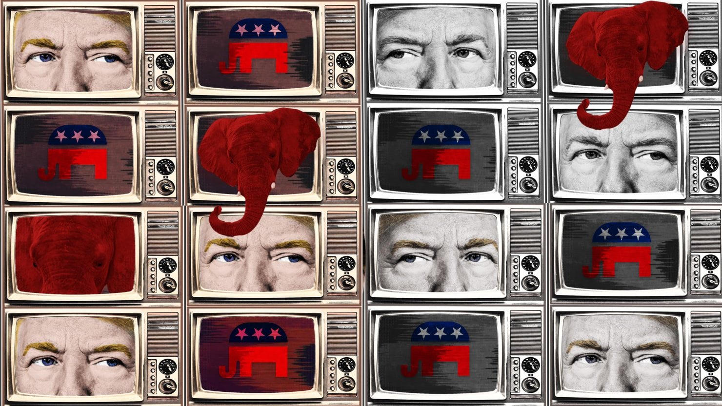 43% of GOP wnta Trump to have power to end media