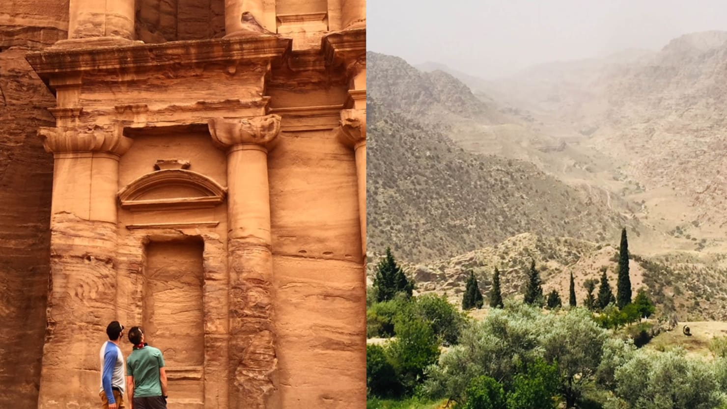 The Best Way to Get to Petra Is on One of World's Best Hikes