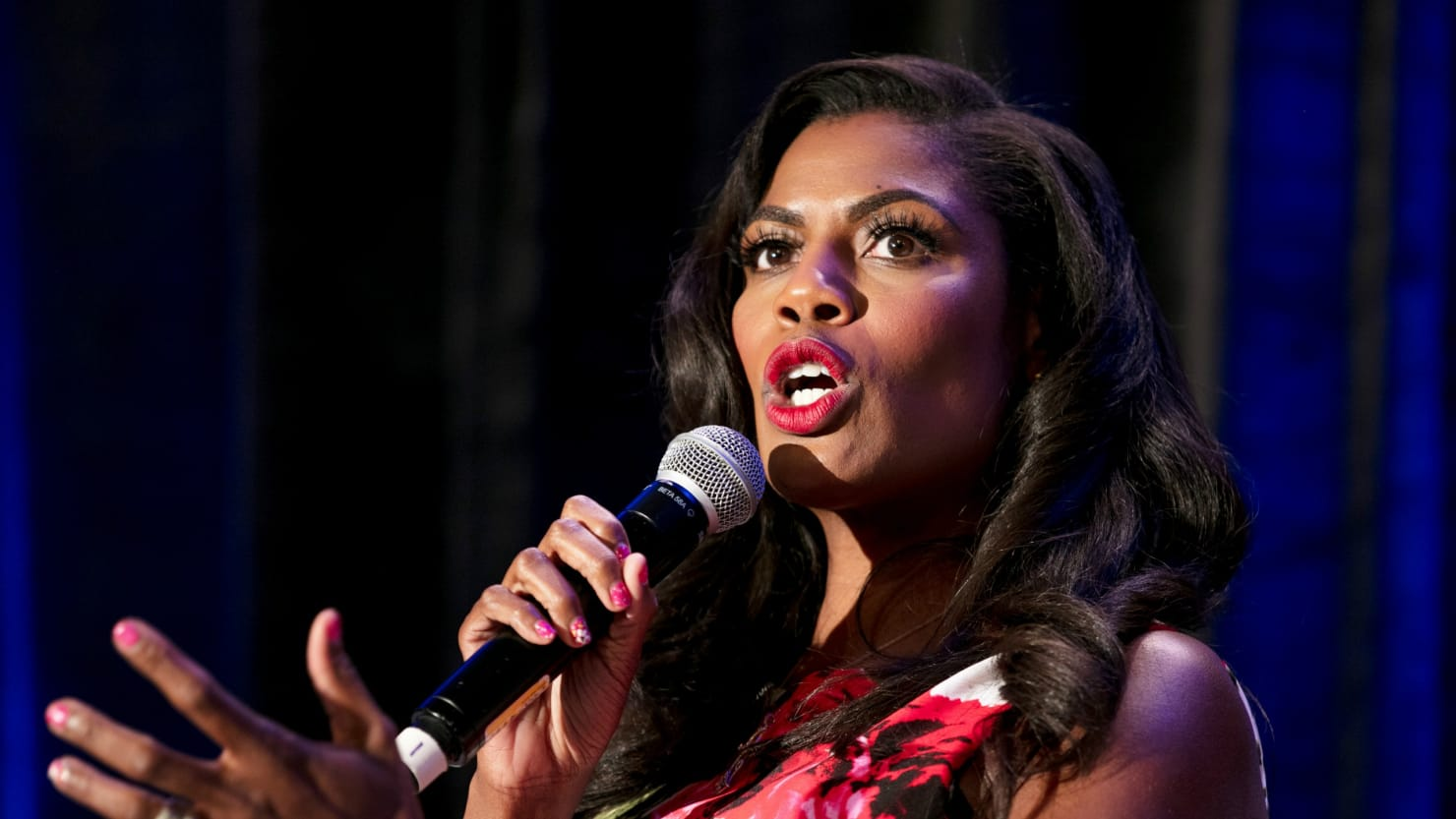 "Omarosa Manigault repeated that Trump is a ""racist, misogynist & bigot"