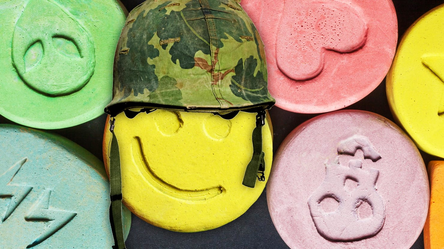 veteran mdma ecstasy ptsd post traumatic posttraumatic stress disorder veteran vet iraq war military maps fda