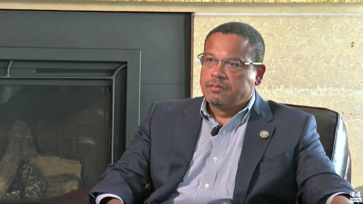 Keith Ellison Fights Back Tears During Interview About Abuse Allegations