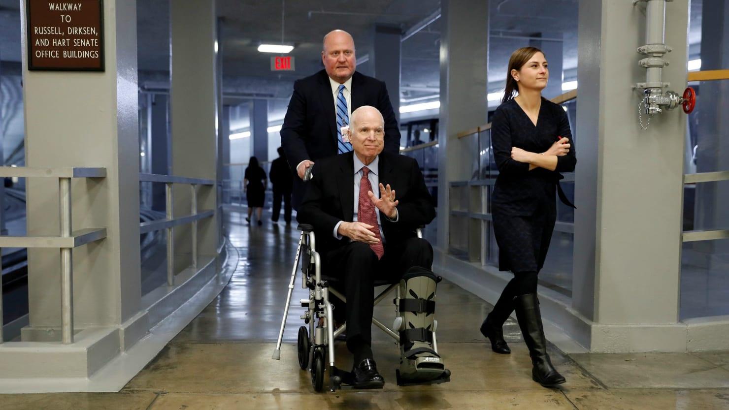 John McCain's Brain Cancer, Glioblastoma, Is Near Impossible to Treat