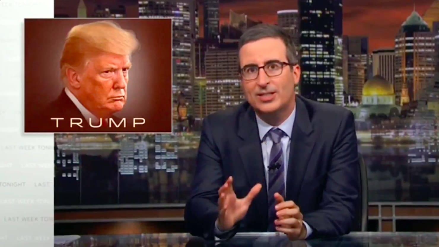John Oliver Freaks Out Over Bob Woodward's Trump Book: 'We're All Going to Die'