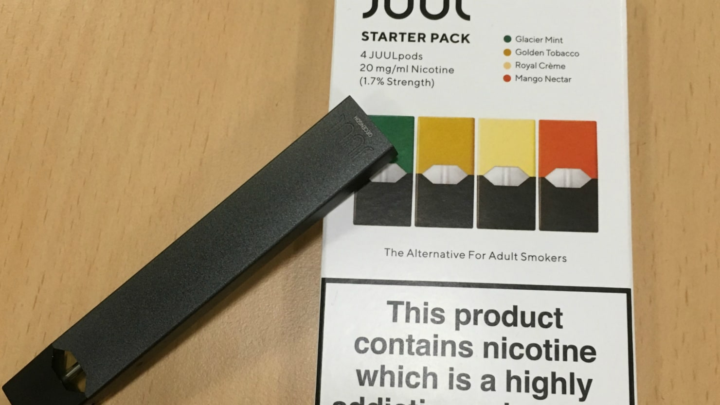 FDA Threatens to Ban Juul, Other Flavored E-Cigarettes