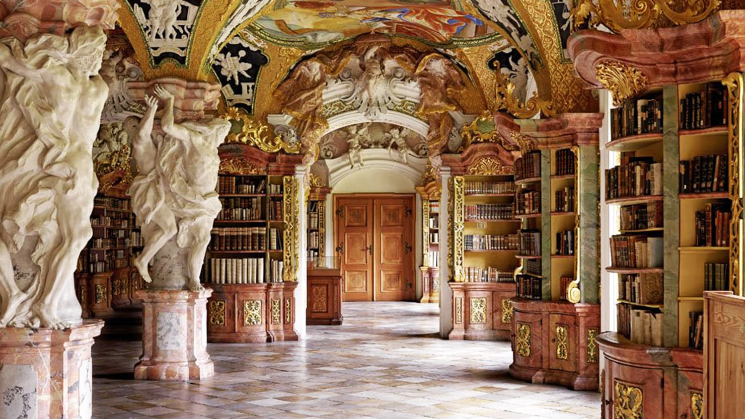 Travel to Palatial Libraries Around the World