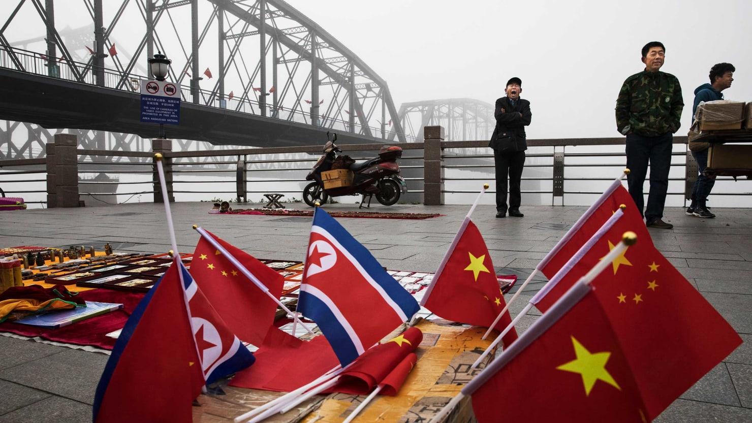 Inside the Sometimes Surreal North Korea-China Border Town of Dandong