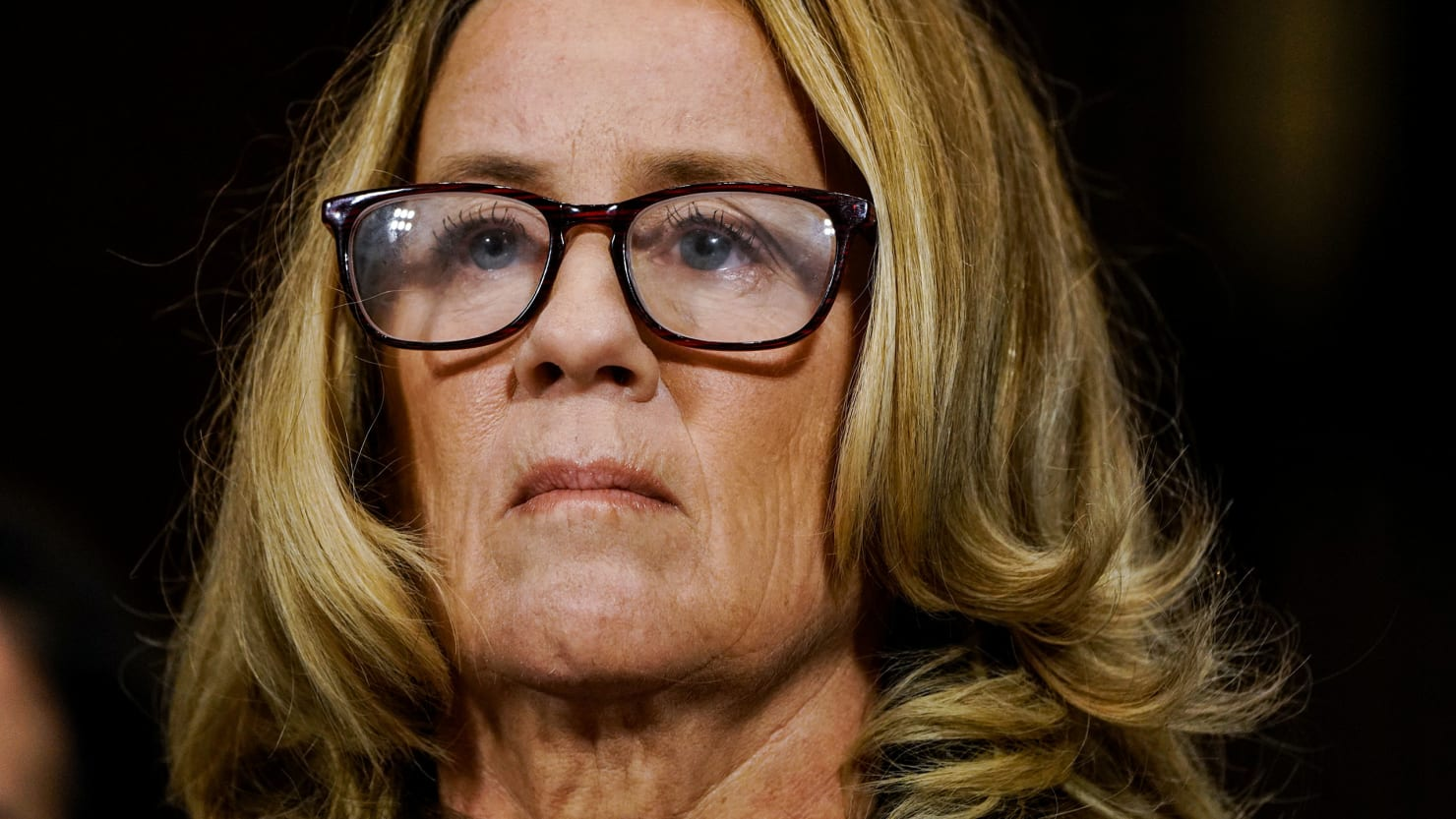 My Ford Benefits >> Christine Blasey Ford Holds Back Tears During Her Kavanaugh Testimony - The Daily Beast