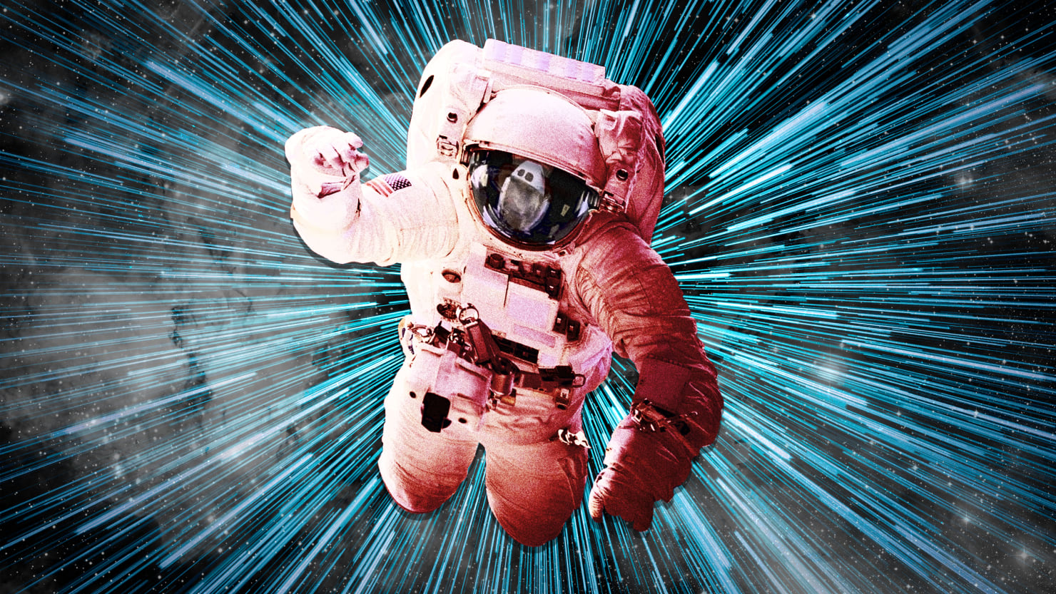 astronaut in deep space - photo #24