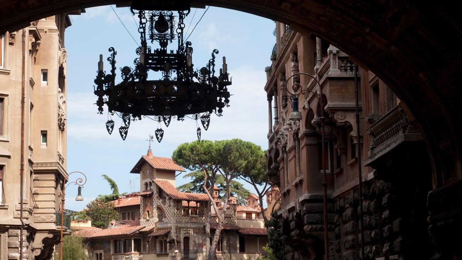Inside Rome's Secret Gaudi-esque Art Nouveau District