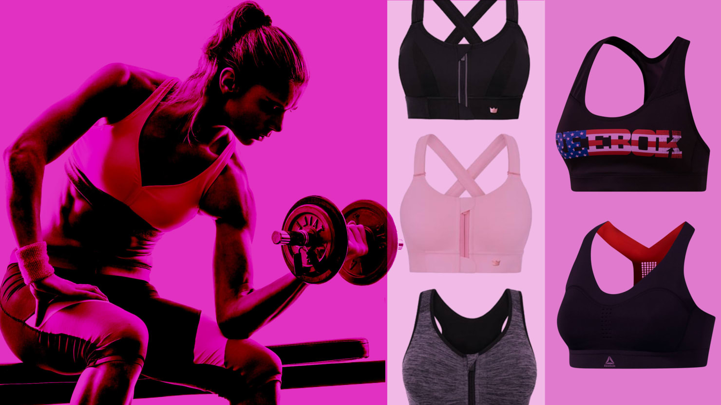 9bb05c7a37a06 Women Feel the Sweat of Finding the Perfect Sports Bra