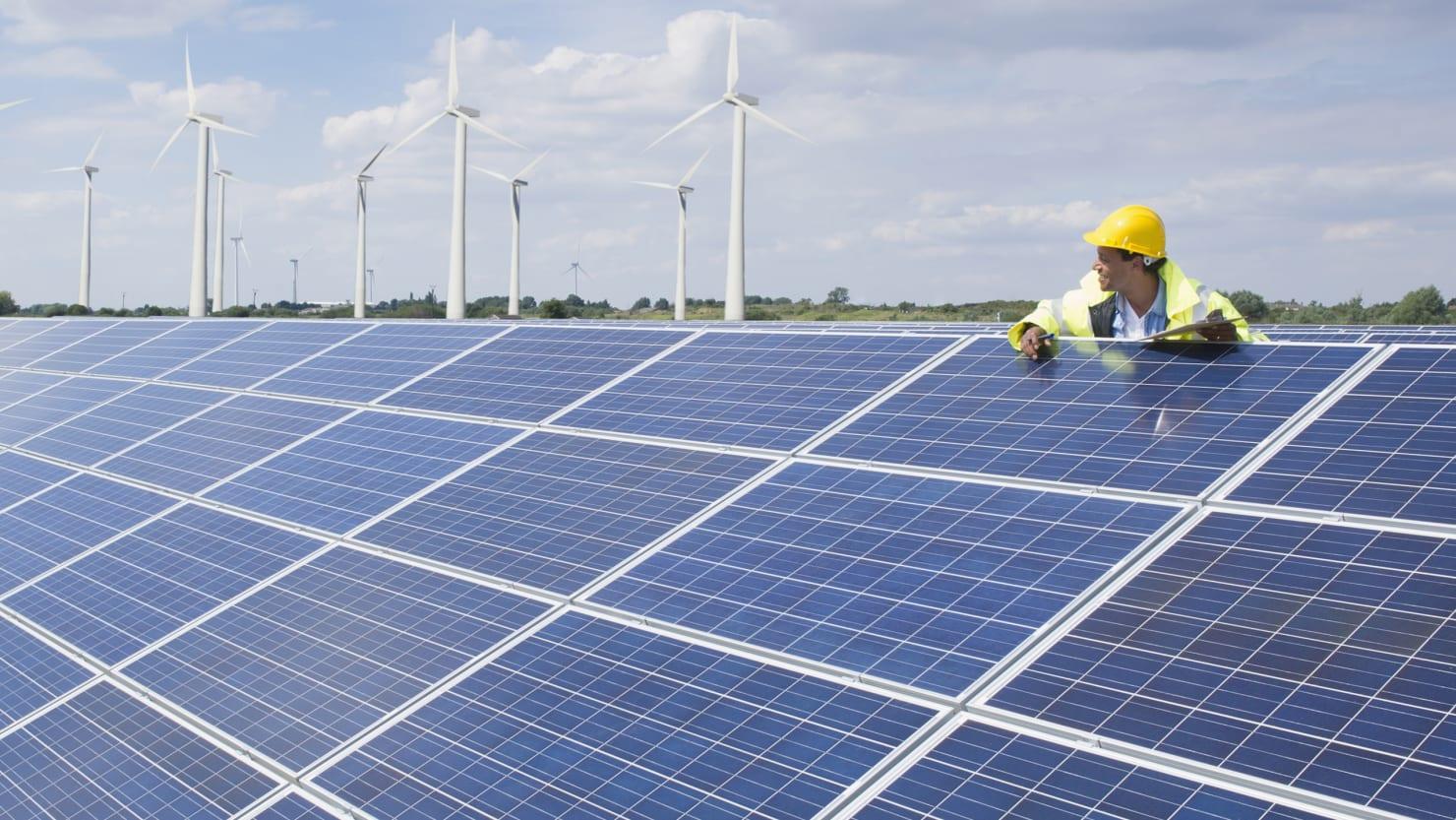 The Secret To Making Green Tech Like Solar Panels Go