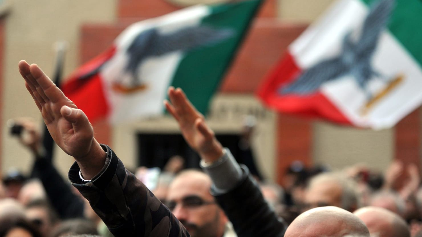 Italian Fascists Celebrate as the World Mourns Pittsburgh