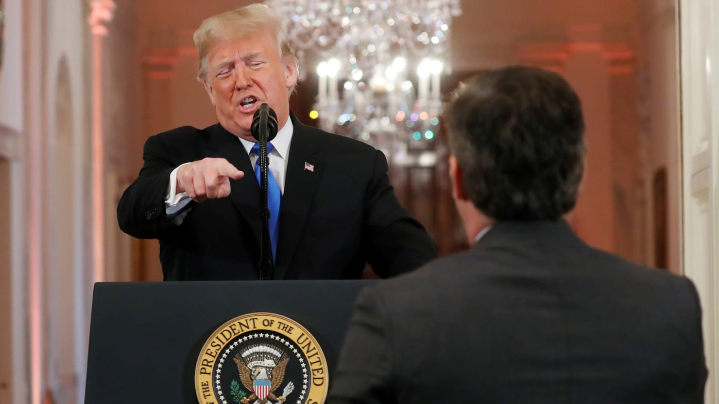 Trump Explodes at Reporters During White House Presser: 'That's Enough!'