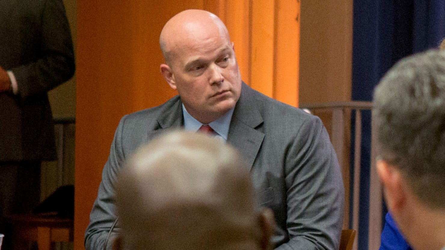 matthew whitaker  a mueller critic  named acting attorney
