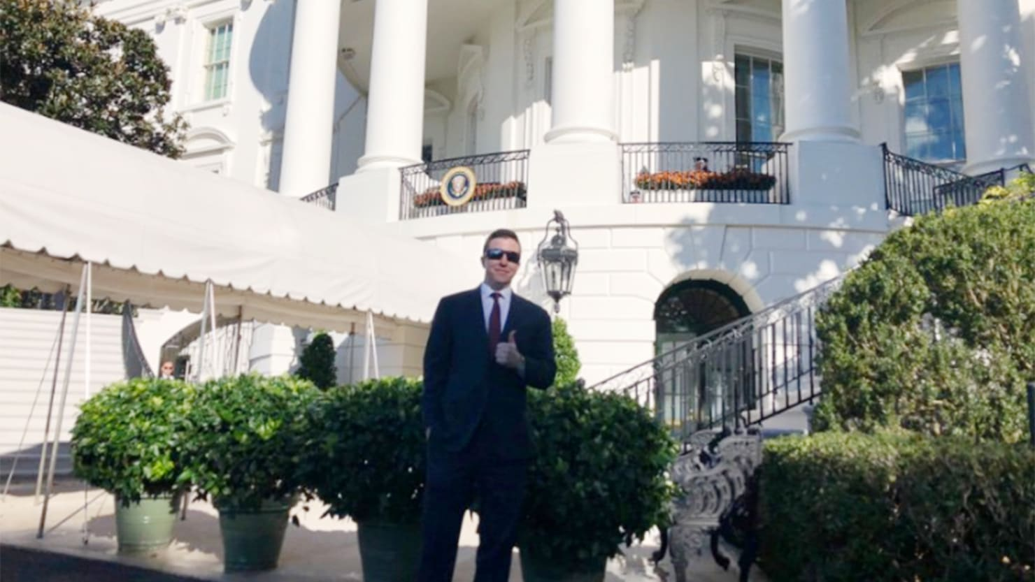 A White Nationalist Leader Just Posted Pics From His White House Visit