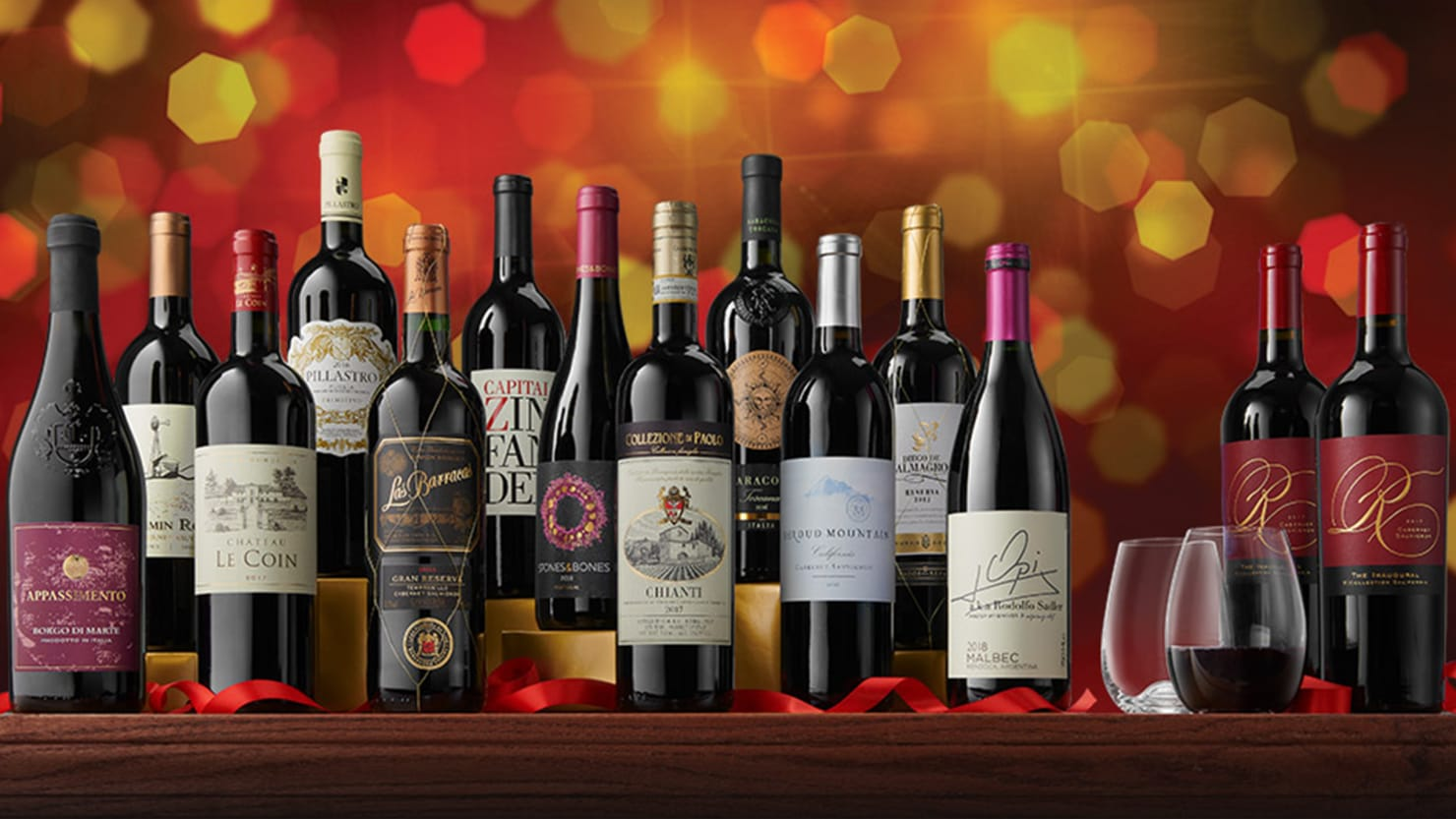 Top 12 reasons to be cheerful. Wine included.