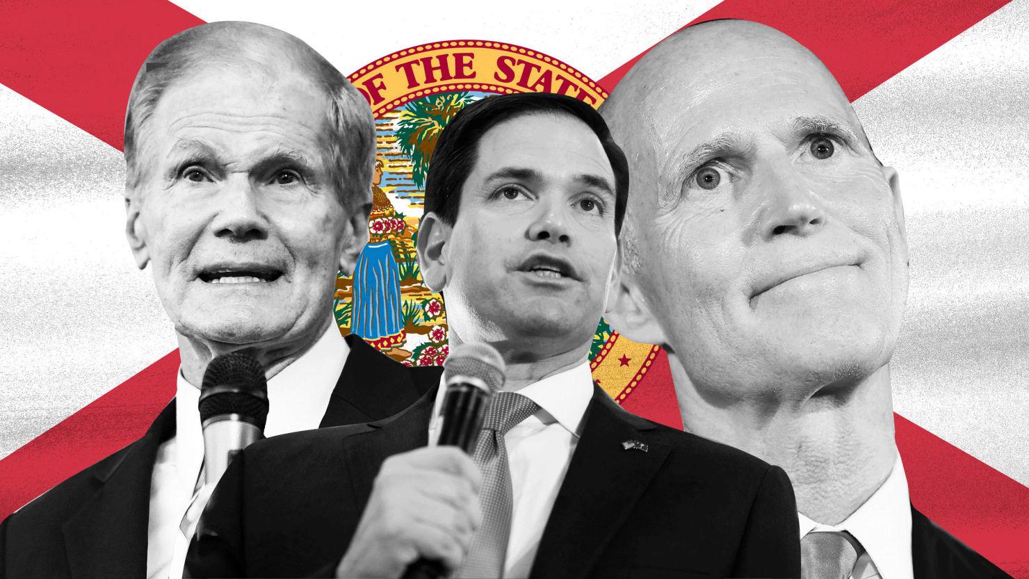 Republicans Freak Out as New Ballots Threaten Florida Senate Win