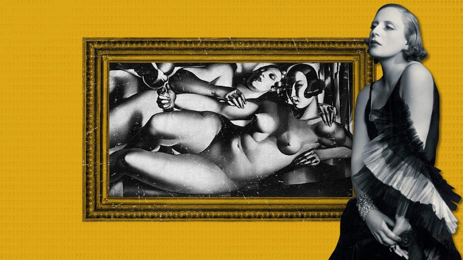 The Nazi Soldier Who Stole Tamara de Lempicka's Famous Female Nudes Portrait