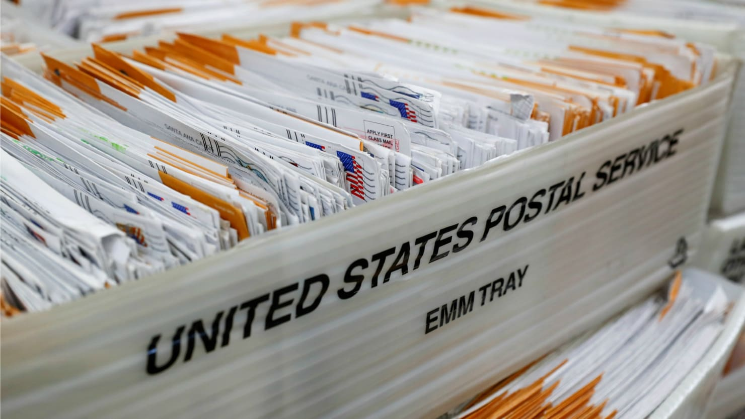 Report: Vote-by-Mail Ballots Sitting in Florida Distribution Center