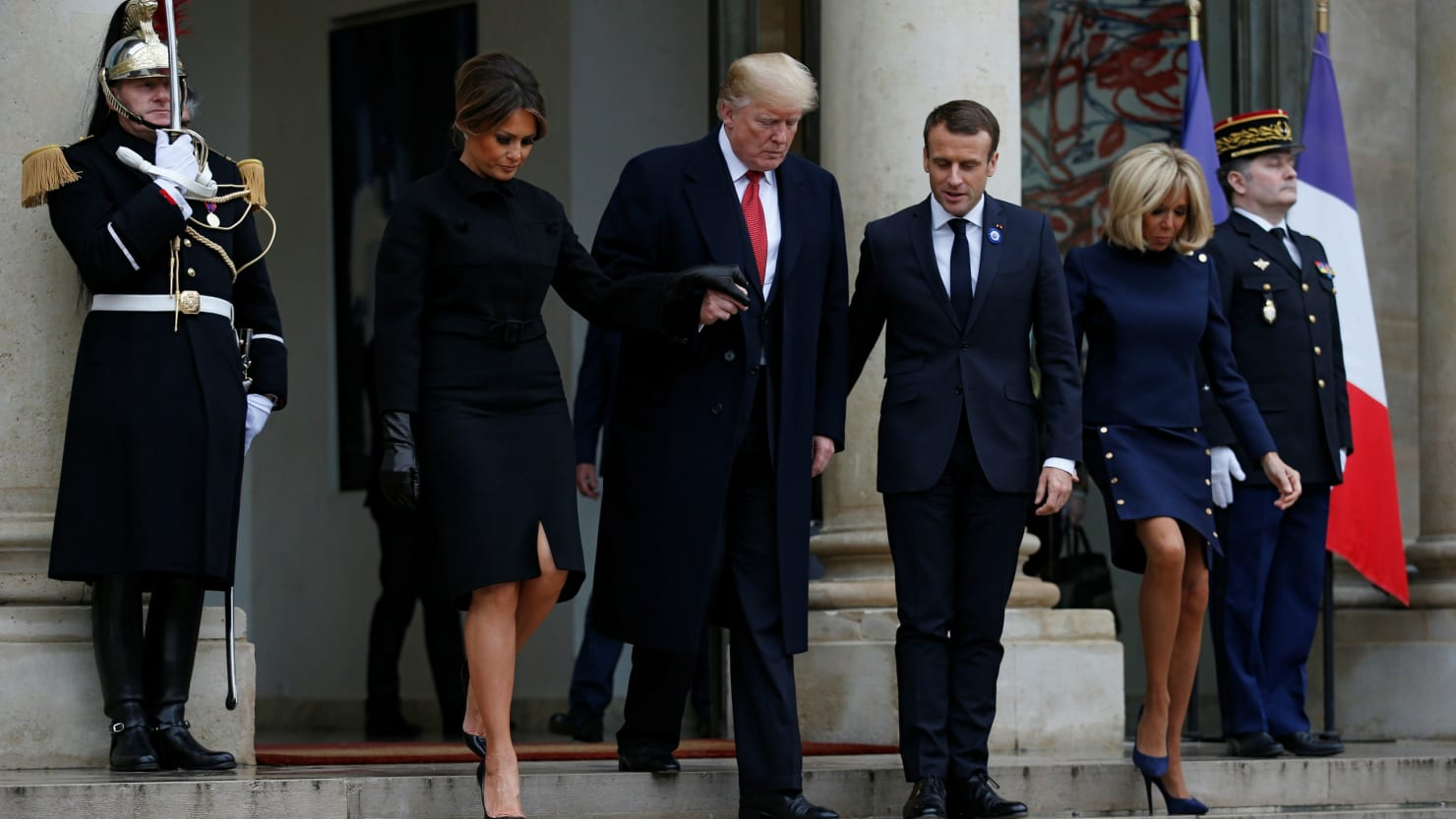 Trump ditches visit to US Vet's Cemetery in France