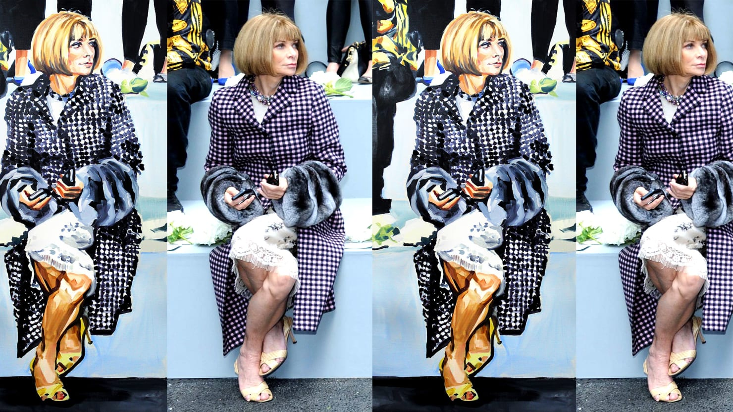 Inside The Exhibit Where Anna Wintour Watches You From Every Angle