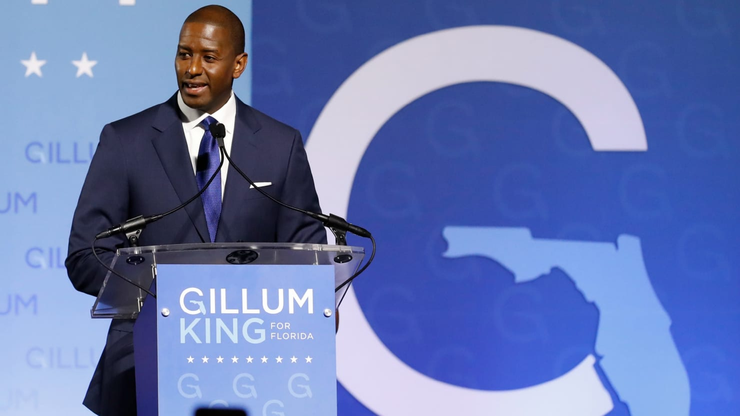 Andrew Gillum rescinds concession