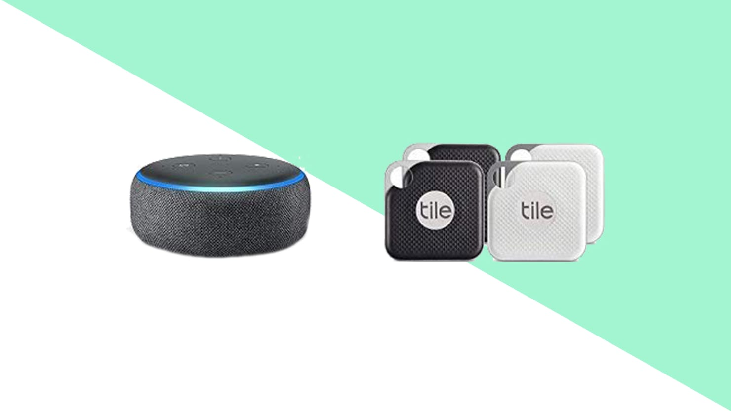 Get an Amazon Echo and Four Tile Pros For $100