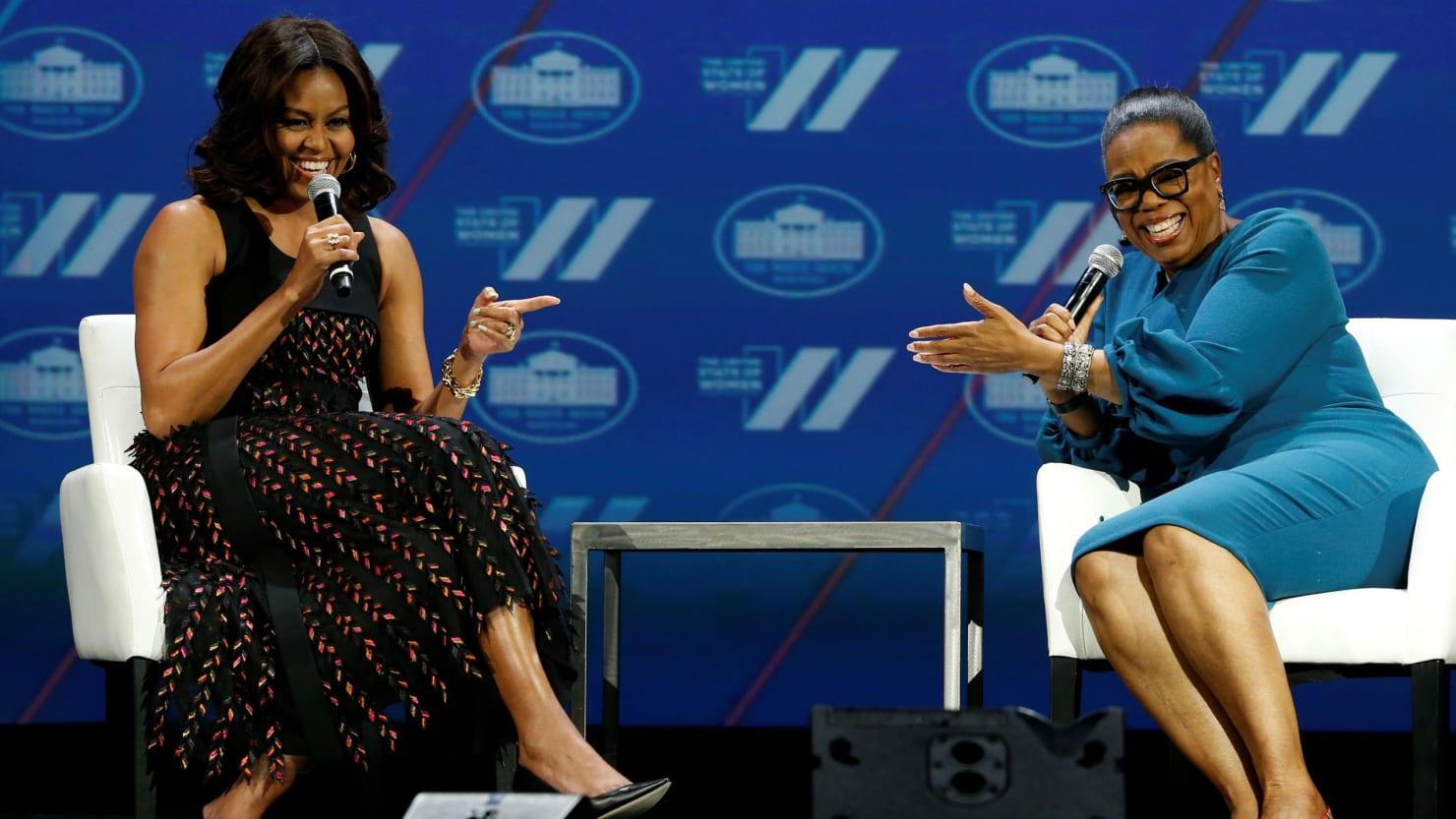 Oprah Picks Michelle Obama Memoir for Book Club
