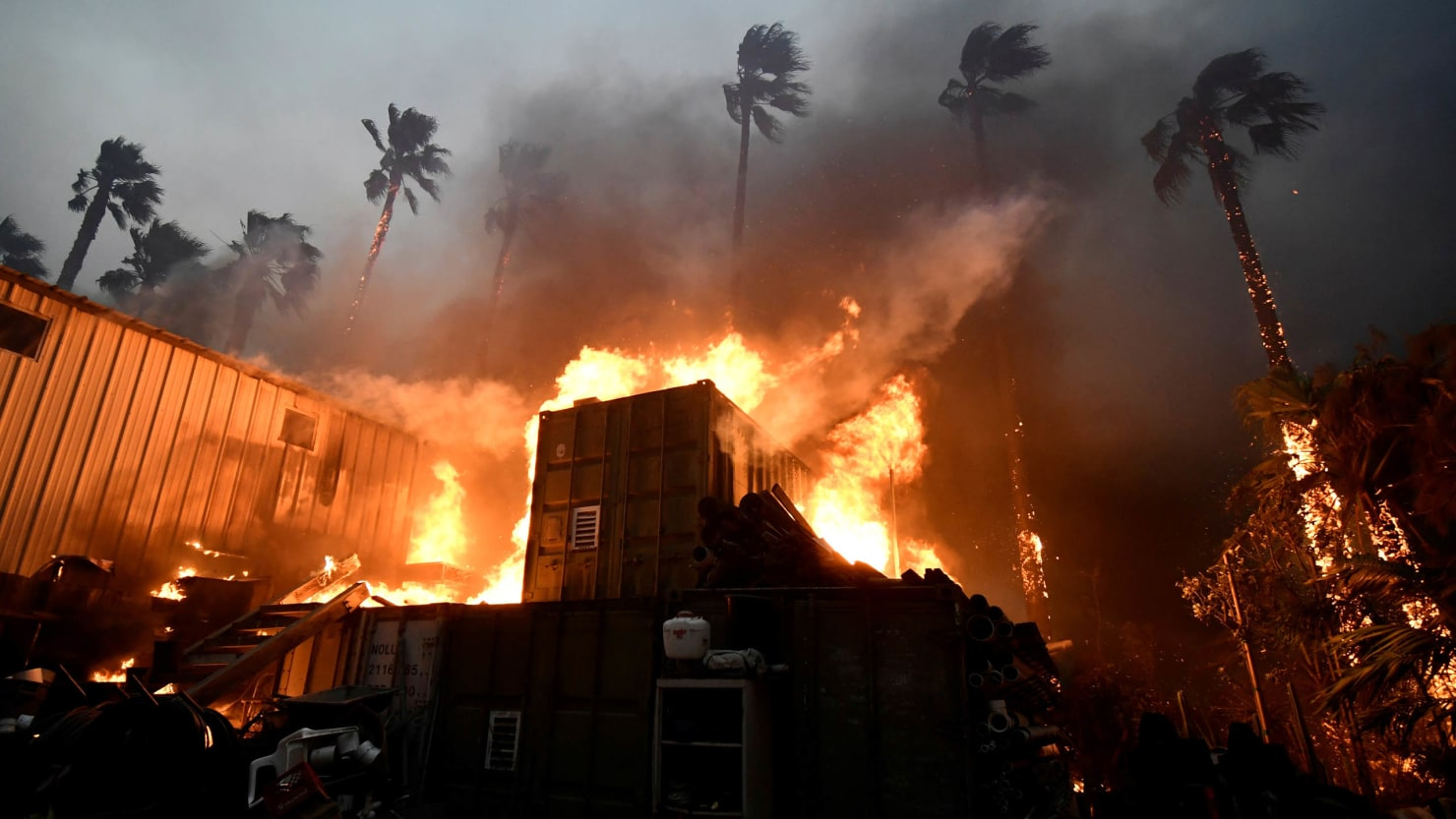 California Fires Fueled by 'Negative Rain'