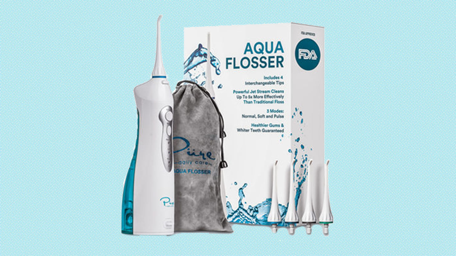 Actually Enjoy Flossing Your Teeth With An Aqua Flosser