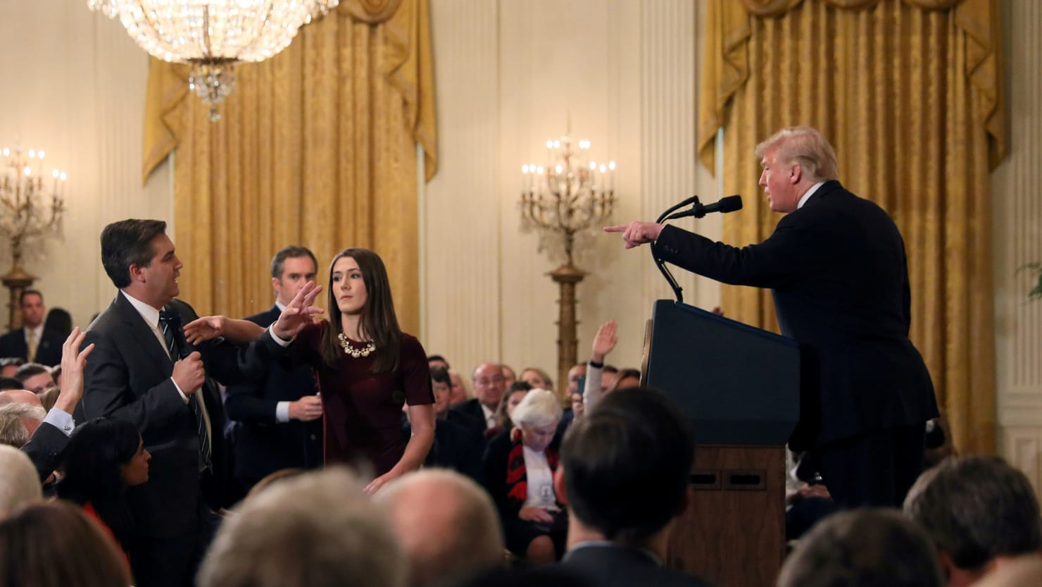 CNN sues Trump over Acosta