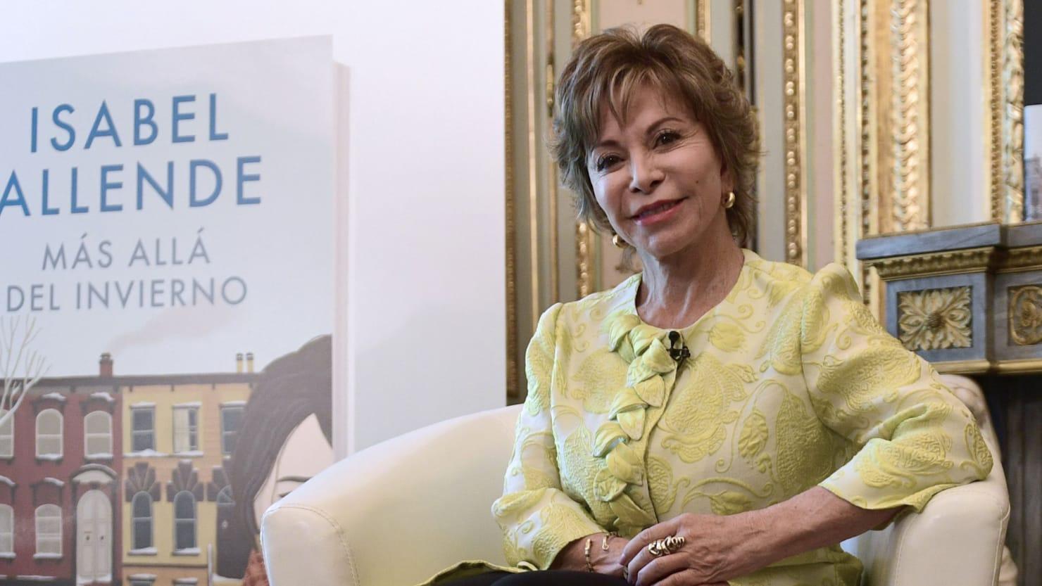 Author Isabel Allende: 'I Have a Lover at 76'